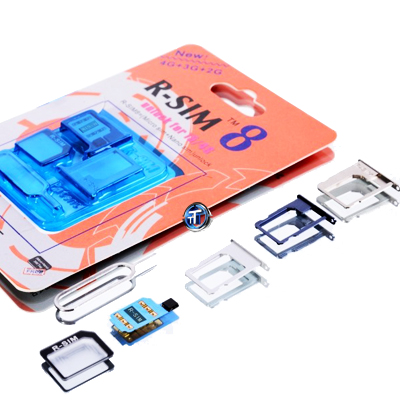 R-SIM 8 Unlocking SIM Card for iPhone 5 and 4S iOS 6 1 3 / 6 1 4 with FREE  Patch Activation Code for Sprint CDMA