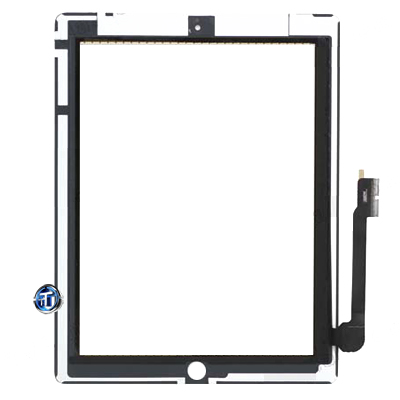 iPad 3 Digitizer White
