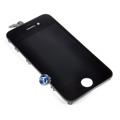 iPhone 4 LCD and Digitizer Touch Screen Assembly in Black (High Quality)