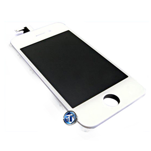 iPhone 4S LCD and Digitizer Touch Screen Assembly in white (High Quality)