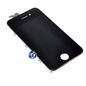 iPhone 4S LCD and Digitizer Touch Screen Assembly in black (High Quality)
