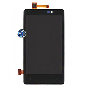 Nokia Lumia 820 LCD Screen and Digitizer with Front Housing Original