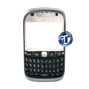 BlackBerry 9320 Curve Front Cover with keypad in Black