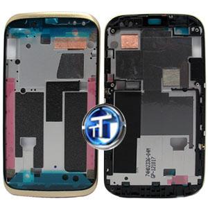 HTC Desire X T328E LCD Metal Frame Gold