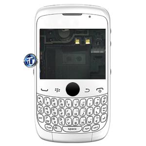 BlackBerry 9330 Curve 3G Housing (white)