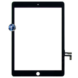 iPad Air / iPad 5 Digitizer Touch Glass Black with Parts - High Quality