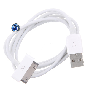 USB Data Cable for iPhone 4 4S, 3GS, 3G, iPad, iPod Touch, iPod Nano (High Quality)