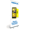 Nokia Pull Up Banner with Design and Print