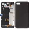 Blackberry Z10 Middle Plate Midplate Frame, Back Cover and Sensor Flex in Black (Original)