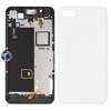 Blackberry Z10 Middle Plate Midplate Frame, Back Cover and Sensor Flex in White (Original)