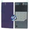 Sony Xperia Z L36H Battery Cover in Purple