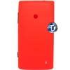 Nokia Lumia 520 Back Cover with Side Button Red