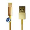 USB Data Cable for iPhone 5S in Gold (High Quality)
