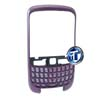 BlackBerry 8520 Curve Front Cover with keypad in Purple