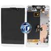 BlackBerry Z10 LCD Screen and Digitizer with Frame in White 3G Version (001/111)
