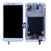 LG G2 D802 LCD and Digitizer with Frame in White