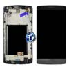 LG G3 D850 LCD and Digitizer with Frame in Grey