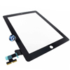iPad 2 Digitizer Touch Black Complete with Home Button, Home Button Flex, Camera Bracket, Adhesive (High Quality)
