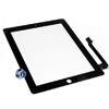 iPad 3 Digitizer Touch Black Complete with Home Button, Home Button Flex, Camera Bracket, Adhesive (High Quality)
