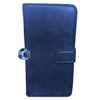 iPhone 5, 5S Luxury Designer Leather Flip Case in Blue