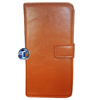 iPhone 5, 5S Luxury Designer Leather Flip Case in Tan