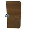 iPhone 5, 5S Luxury Designer Leather Flip Case in Moda Brown