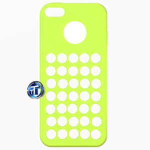 iPhone 5C TPU Designer Case in Lime Green