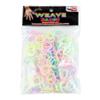 Rainbow Loom Bands (300 Glow in the Dark Colourful Rubber Bands)